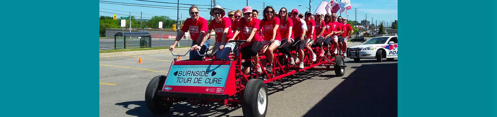 Big Bike for Heart - Newmarket