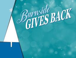 Burnside Gives Back
