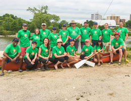 Credit Valley Conservation Dragonboat Challenge